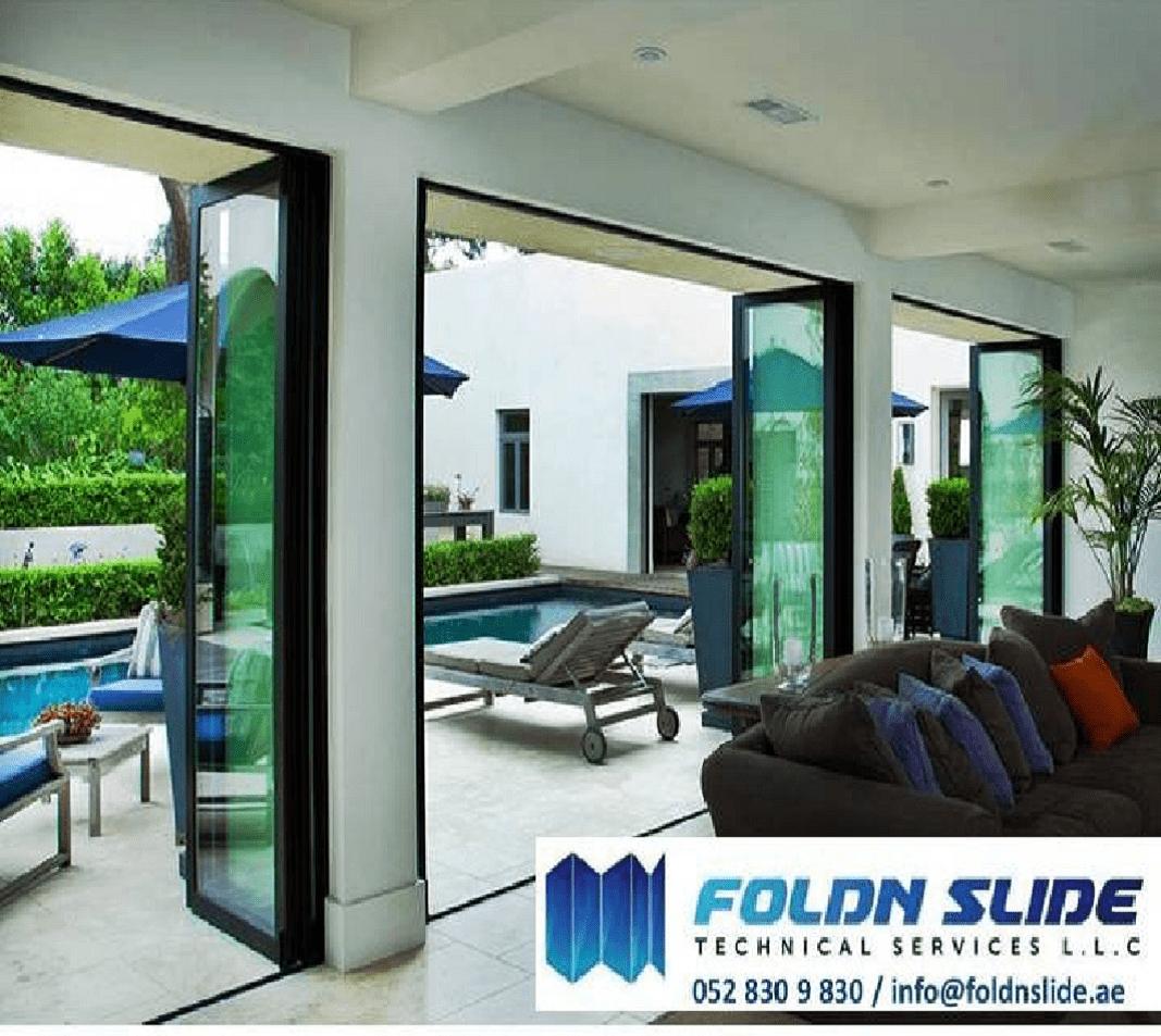 Folding doors dubai